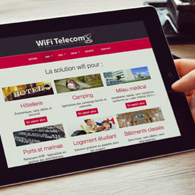 Site web WiFi Telecom